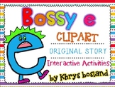 Bossy e Pack {21 Clipart Images} {Original Story} {Interactive Activities}