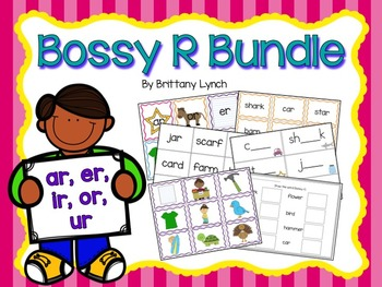 R-Controlled Vowels Bundle (Bossy R)