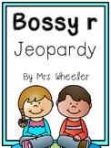 First Grade Phonics: Bossy r Jeopardy