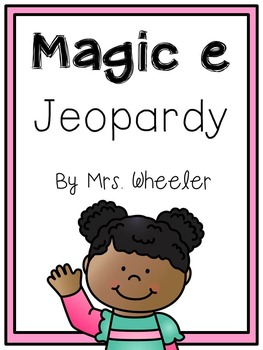 First Grade Phonics: Silent e Jeopardy