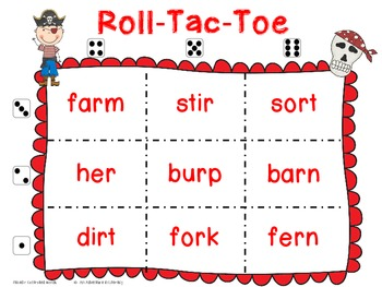 Bossy r Pirate Tic Tac Toe Games