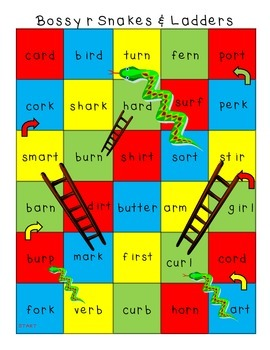Bossy r Snakes and Ladders Games