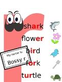 Bossy r poster