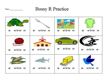 Bossy r worksheet