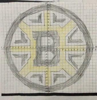 Boston Bruins Logo Graphing Activity