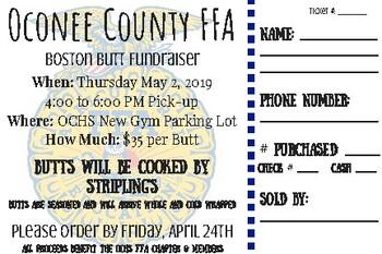 Boston Butt Fundraiser Tickets