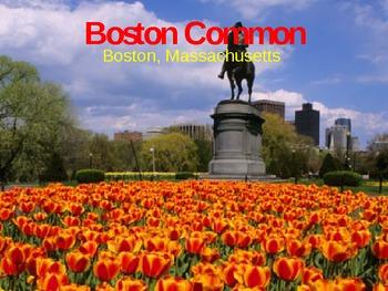 Boston Common PPT - 4th stop in NE Region Tour