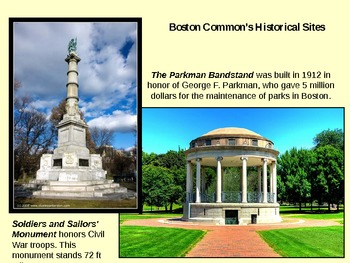 Boston Common PPT - 4th stop in NE Region Tour