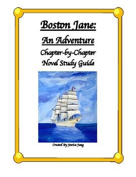 Boston Jane: Novel Study Guide--Includes Answer Key!