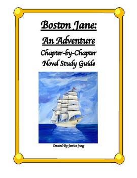 Boston Jane: Novel Study Guide--Includes Answer Key!