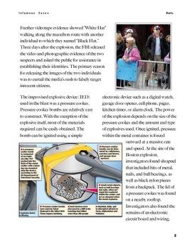 Boston Marathon Bombing w/key