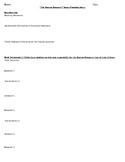 Boston Massacre Argumentative Essay planning sheet / outline