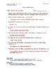 Boston Massacre Article (Reading Level 2) Comprehension Worksheet