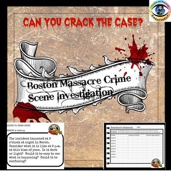 Boston Massacre Crime Scene Investigation