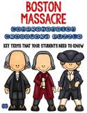 Boston Massacre Crossword