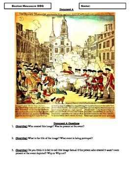 Boston Massacre DBQ