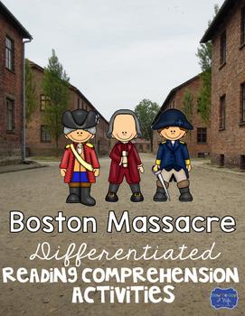 Boston Massacre Differentiated Activities