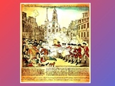 """Boston Massacre- Introduction & """"Point of View"""" Power Point"""