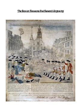 Boston Massacre Close Read and Comparative