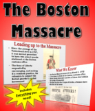 Boston Massacre Lesson Plan