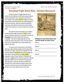 Boston Massacre  Podcast Package U.S. History
