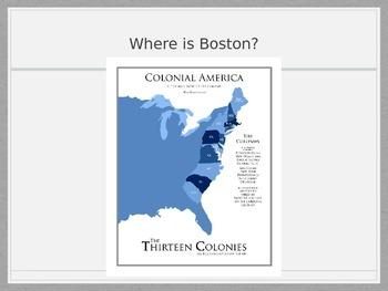 Boston Massacre Powerpoint and Lesson Idea