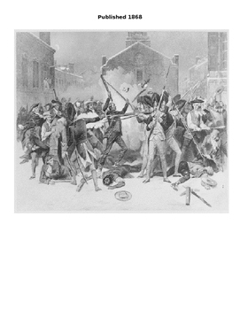 Boston Massacre Primary Source Analysis