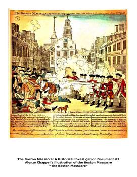 Boston Massacre Primary Source Analysis