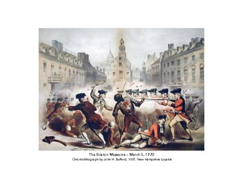 Boston Massacre - Primary Source Perspectives