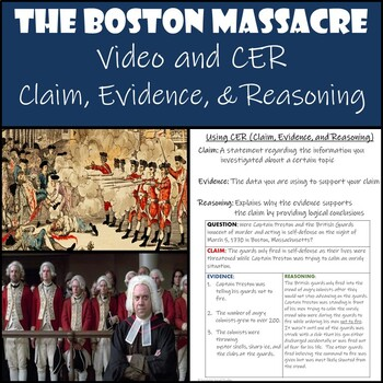 Boston Massacre Trial with CER