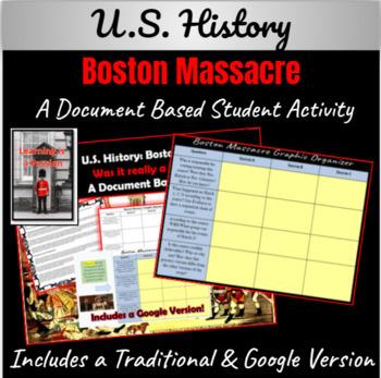 Boston Massacre: Was it really a Massacre? Mini- DBQ