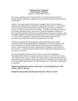 Boston Public - Principal Harper's Dilemma