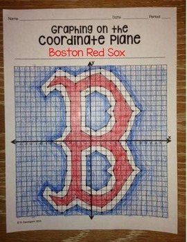 Boston Red Sox (Coordinate Graphing Activity)