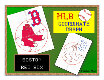 Boston Red Sox - MLB Coordinate Graph