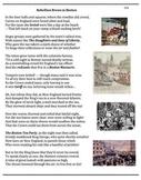 Boston Tea Party (33) - poem, worksheets, puzzle