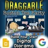 Boston Tea Party - Digital Draggable Diorama