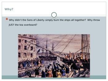 Boston Tea Party Presentation
