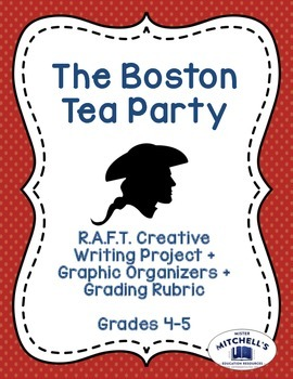 Boston Tea Party RAFT Creative Writing Project + Graphic O