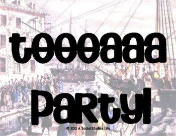 Boston Tea Party Rap Song with Lyrics & Questions