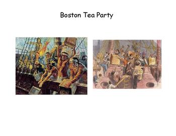 Boston Tea Party Simple Story