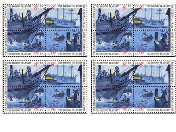 Boston Tea Party Stamp Handout
