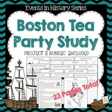 Boston Tea Party Study and Project