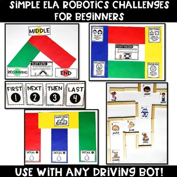 Bot Basics: LANGUAGE ARTS Edition {Robotics for Beginners}