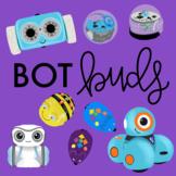 Bot Buds Clip Art- Robot Clip Art