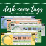 Botanical Desk Name Labels - Year 3