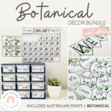 Botanical | Natural Classroom Decor Bundle