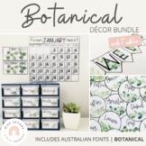 Botanical | Modern Farmhouse Classroom Decor Bundle | Editable
