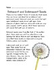 Botany: Dehiscent and Indehiscent
