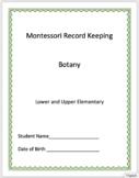 Botany - Montessori Record Keeping