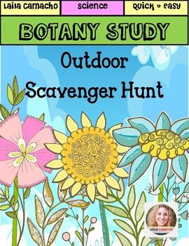 Botany: Outdoor Scavenger Hunt